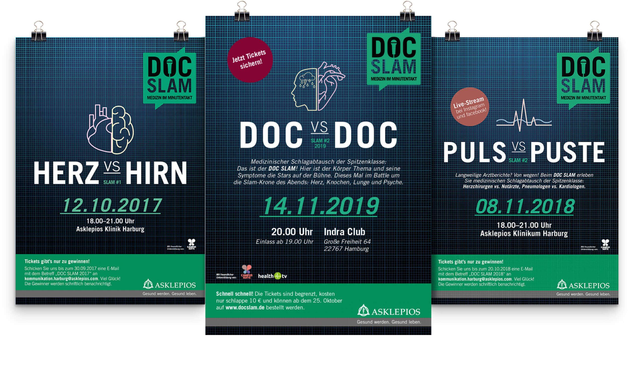 Ask Doc Slam Poster