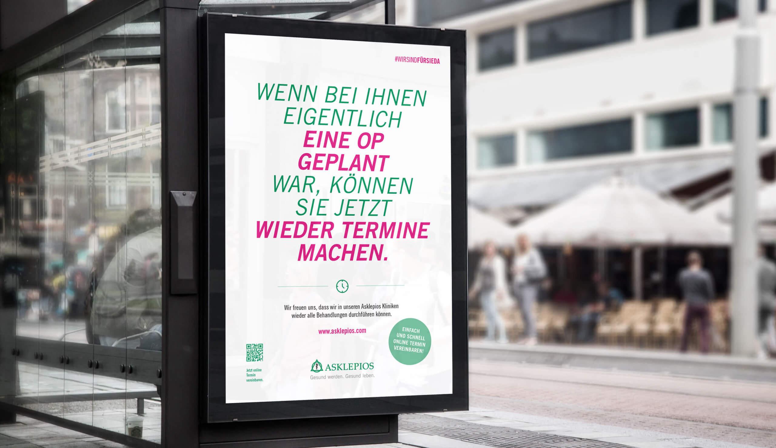 Asklepios Kampagne Regelbetrieb